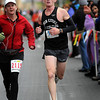 John Cross<br /> Eric Thies of Arlington won the Mankato Marathon on Sunday with a time of 2:35:55.