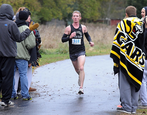 Pat Christman<br /> Eric Thies of Arlington won the Mankato Marathon on Sunday with a time of 2:35:55.