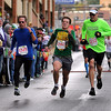 John Cross<br /> Some half-marathon runners still had enough in them to sprint to the finish line on Sunday.