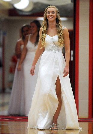 Pat Christman <br /> Mankato West homecoming queen candidate Holly Hankins.