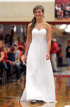 Pat Christman <br /> Mankato West homecoming queen candidate Maria Soroka.