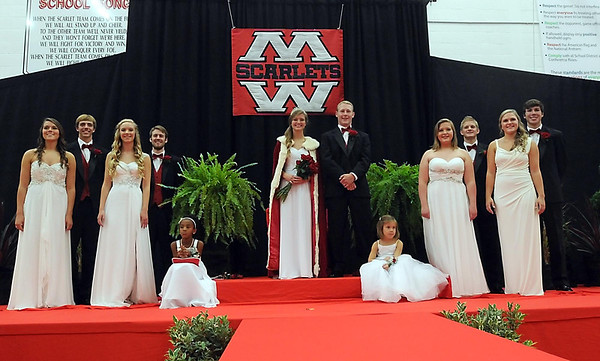 Pat Christman  The Mankato West 2013 homecoming court.