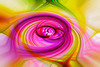 Photoshop Twirl -- Pink
