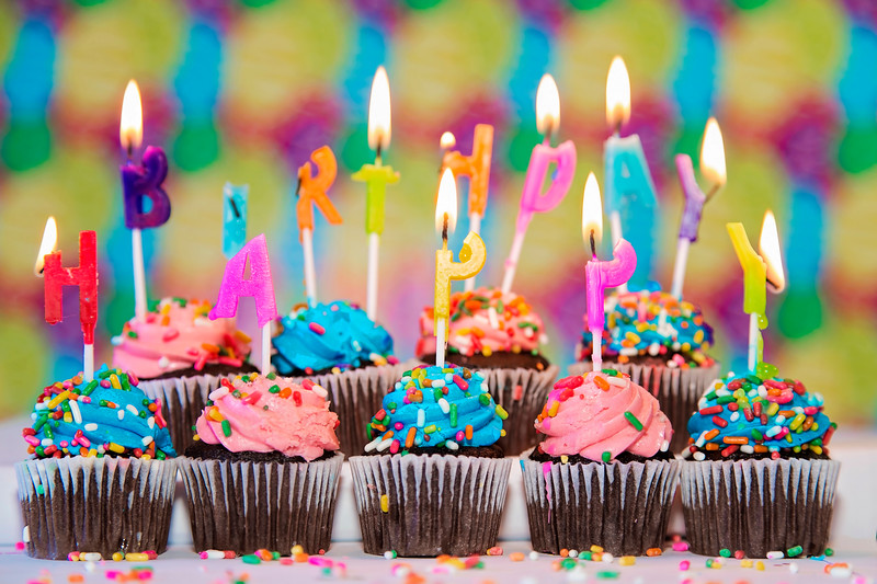 Birthday Afire