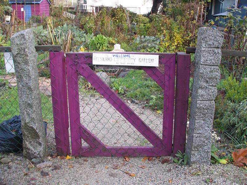 Kitsilano Community Garden