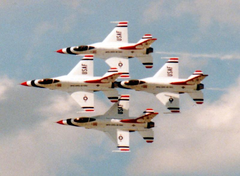 Rick Sammons, Thunderbirds in Diamond Formation, $100, 14x11, rightpathcfo@gmail.com 513-675-1122