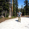 We found patches of snow along the trail, but nothing compared to the Sierra this year.