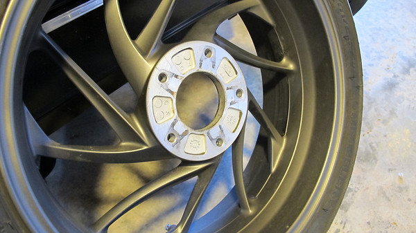 Marc parnes wheel Balancer K1600 BMW