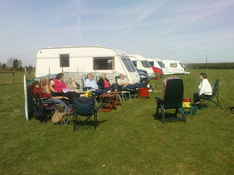 The caravanning season gets under way with a surprisingly warm weekend!