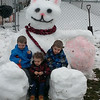 Giant snow bunny and my 3 boys!<br /> <br /> Photographer's Name: Justin Holbrook<br /> Photographer's City and State: Markleville, IN