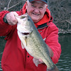 A 5.7 pound bass, caught at the Mounds Lake Annex on March 16.<br /> <br /> Photographer's Name: J.R. Rosencrans<br /> Photographer's City and State: Alexandria, Ind.