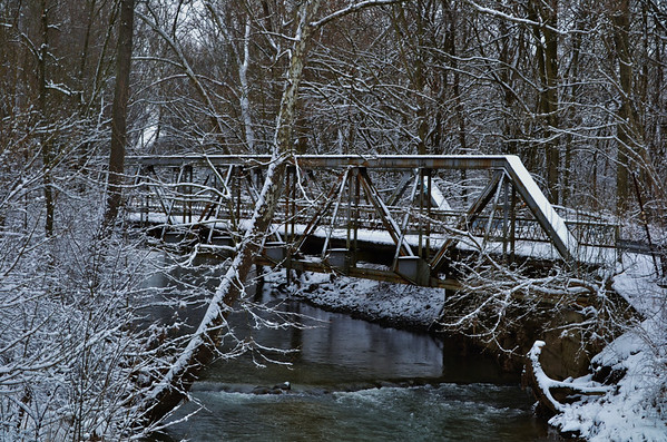 The old bridge on 600 in Ovid.<br /> <br /> Photographer's Name: Colleen Sanders Brown<br /> Photographer's City and State: Anderson, Ind.
