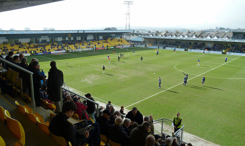 Torquay Utd v Oxford Utd (1-3) at Plainmoor on 9th March 2013