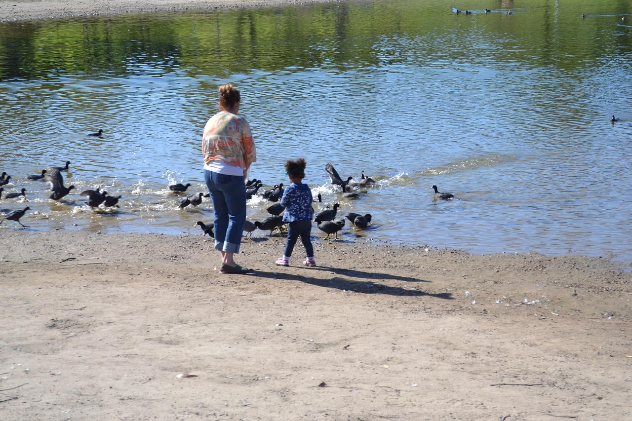 Catherine and Shea at Lake Murray