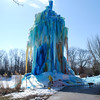 Veal's Ice Tree reached the height of 80 feet  in Indianapolis off Acton Road.<br /> <br /> Photographer's Name: Jenee Wilber<br /> Photographer's City and State: Anderson, Ind.