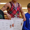 Noe Rodriguez, champion of his weight class at the Madison County Wrestling Tournament on 3/15/2014.<br /> <br /> Photographer's Name: Jenee Wilber<br /> Photographer's City and State: Anderson, Ind.