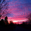 A recent sunset in Anderson.<br /> <br /> Photographer's Name: Carol Miller<br /> Photographer's City and State: Anderson, Ind.