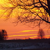 """March Sunrise"" at my farm in Richland Township.<br /> <br /> Photographer's Name: J.R. Rosencrans<br /> Photographer's City and State: Alexandria, Ind."