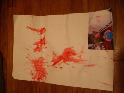 Lauryn's artwork.