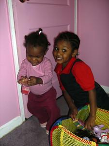 Lauryn and Tenia.