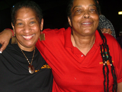 Mama Bernita and Mama Nkechi