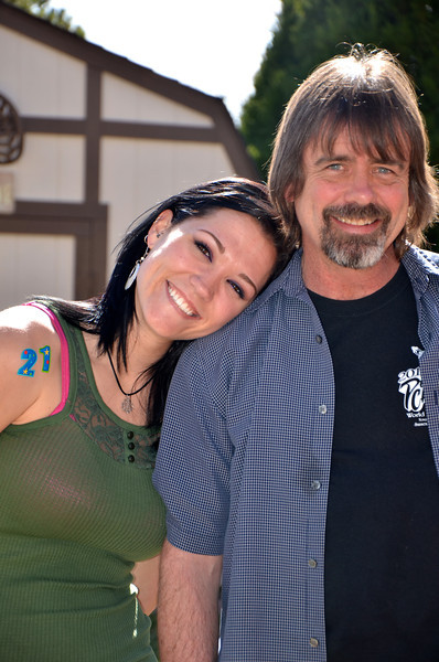 Kelli and her Daddy :)