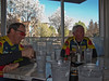 Spring is revealed while Dan and Don await a hearty breakfast.