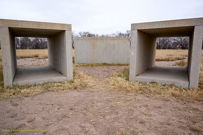 Donald Judd - 15 untitled works in concrete
