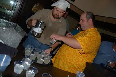 DJ and Texas Longhorn Fan.. dishing it out!