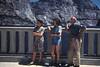 1944: Mom, Marian, Pop at Hetch Hetchy Dam