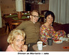 1969: Dinnter at Marian's  with Lolly & Bob