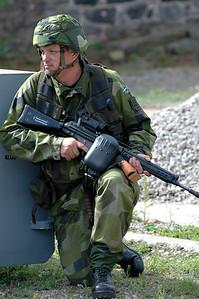 Skyddsvaktsdemonstration