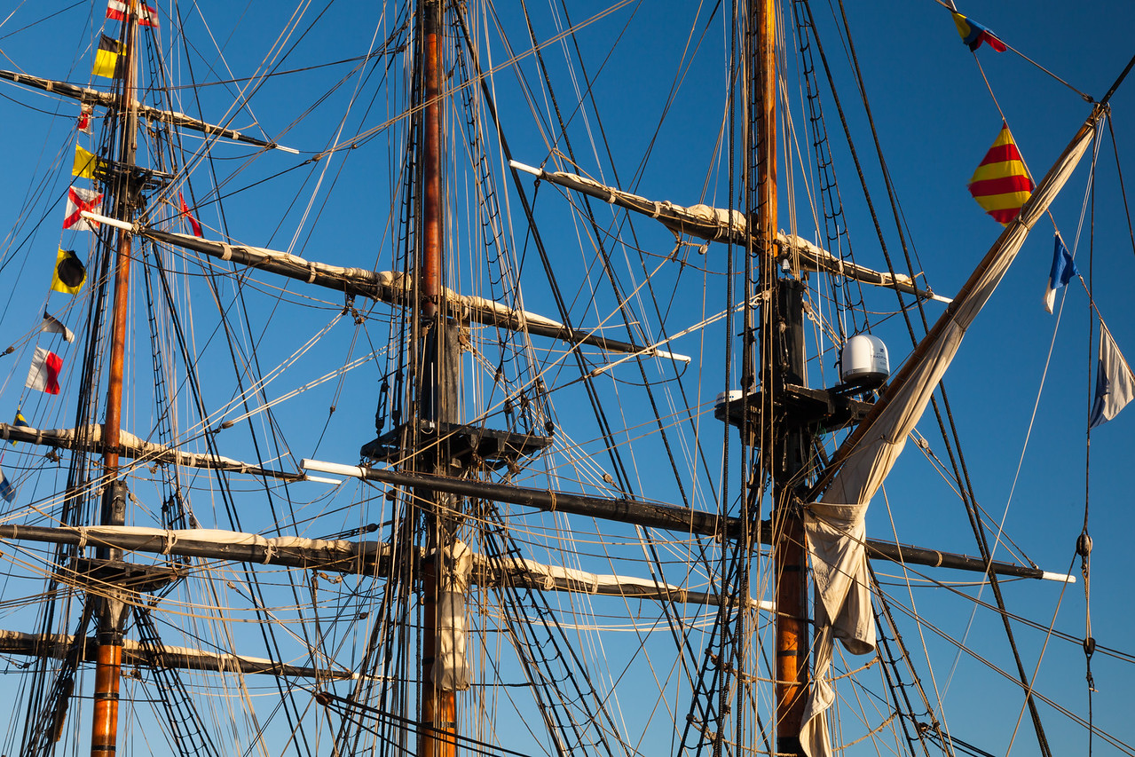 Bounty Masts and Riggings