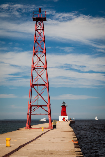 Menominee Pier Light