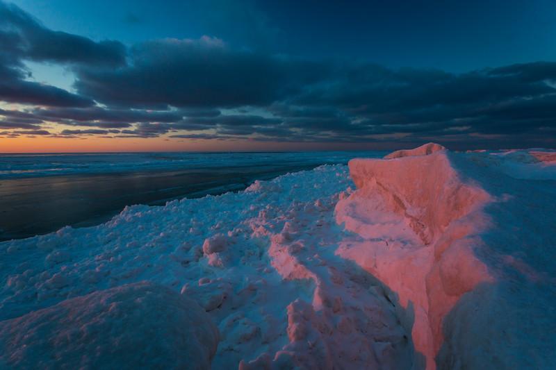 Iceshelf Sunset