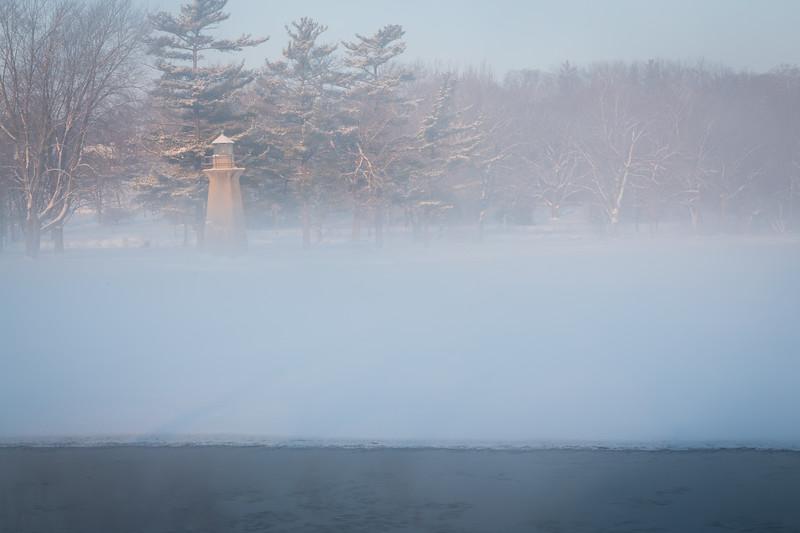Fabyan Lighthouse and Fog