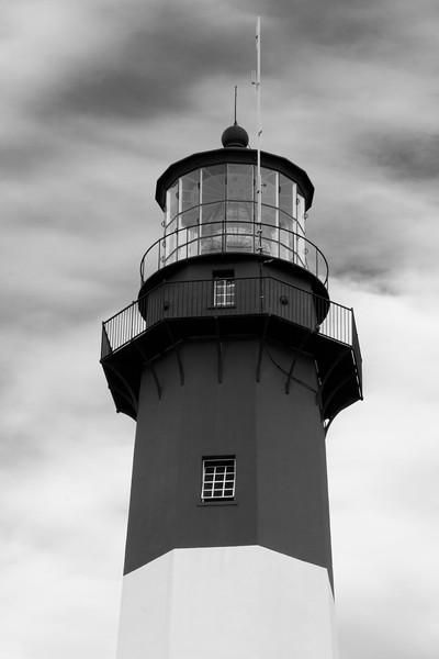 Tybee Island Lighthouse light tower. Tybee Island, GA<br /> <br /> GA-080626-0008