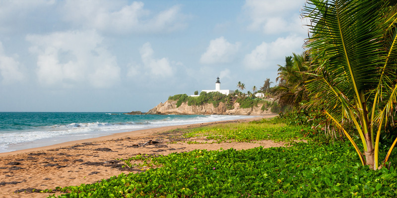 View of East Beach in Maunabo. Maunabo, PR<br /> <br /> PR-070727-0138
