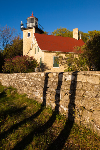Eagle Bluff Lighthouse. Peninsula State Park, WI<br /> <br /> WI-100514-0140