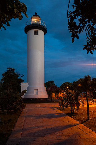 Rincon Light at Dusk