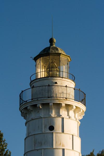 Cana Island light tower. Cana Island, WI<br /> <br /> WI-080830-0038