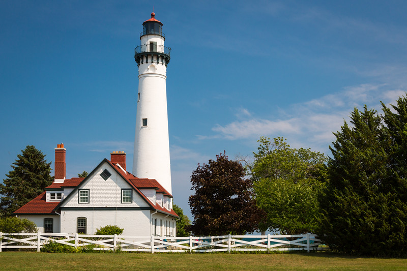 Wind Point Lighthouse Summer