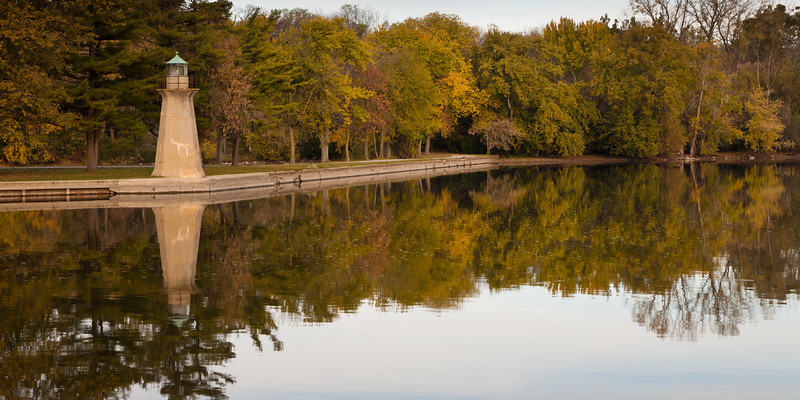 Display of Autumn color along the Fox River on the Fabyan Forest Preserve. Geneva, IL<br /> <br /> IL-111022-0044