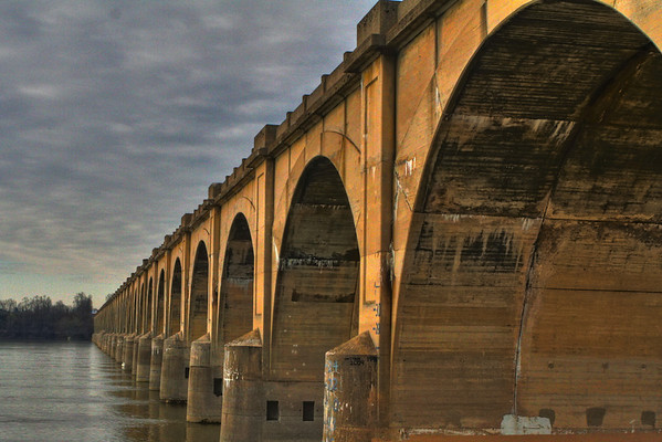 Harrisburg Train Bridge