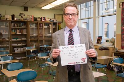 Jeff Hartling, '87, Religion Teacher
