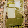 Diagram of Oak Park. New building in upper right corner. Old building site at upper left corner occupied by parking lot.