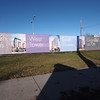 Signage along 70th Avenue 2012-02.