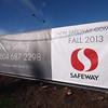 Closeup of signage along 70th Avenue 2012-02.