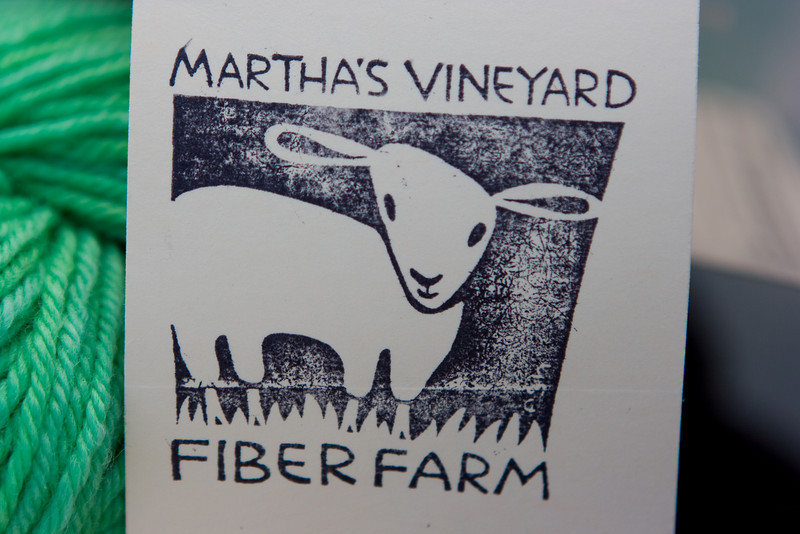Martha's Vineyard Fiber Farm.