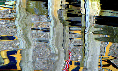 Abstract Reflection, Menemsha